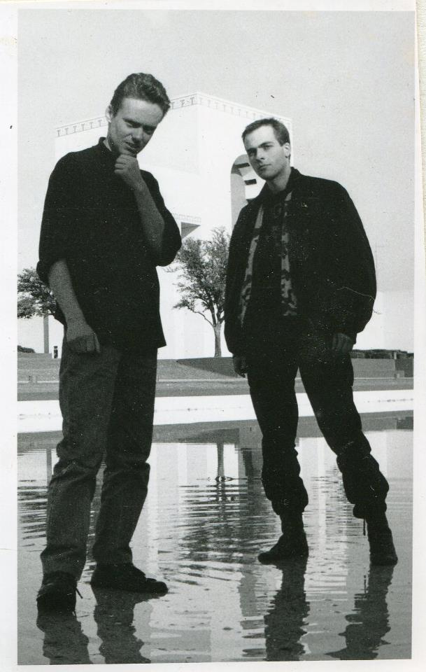 Simon Crab and Christoph Fringeli. Dallas, Texas. 1993