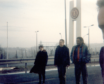 On the DDR/CZ Border 1988 (Lucia Pinto, Kif Cole, Miles Miles, Crab).